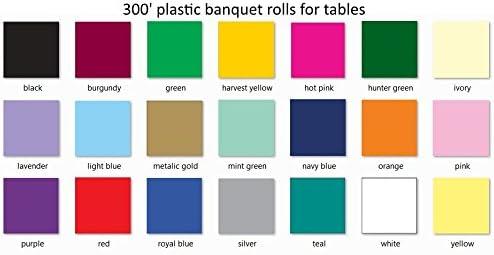 Hot Magenta Banquet Roll