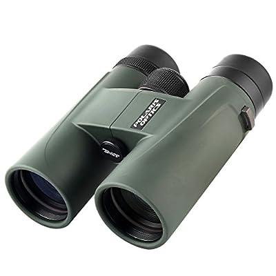 Polaris Optics NaturePro HD 8X42 Professional Bird Watching Binoculars. Experience Vivid Color, Clarity and Brightness Up Close or Far Away. Wide Field of View. Close Focus. Waterproof, Fog Proof. from Polaris Optics