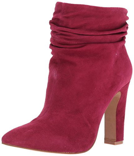 Kristin Chinese Cavallari Suede Ankle Women's Kane Bootie Laundry Red zw4qwU5