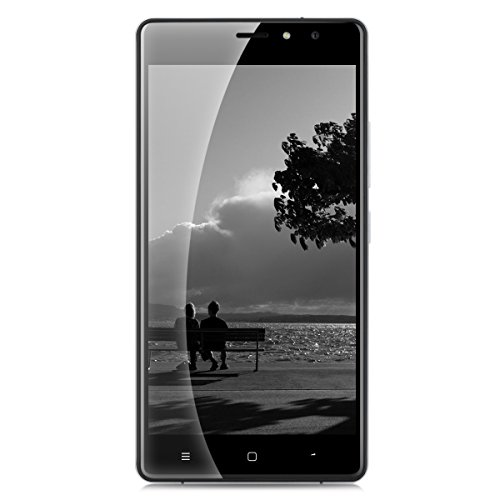 TIMMY M20 IPS 5.5 Zoll 3G-Smartphone Android 6.0 Quad Core 1.3GHz Dual SIM 1GB RAM+8GB ROM Handy ohne Vertrag 8.0MP + 5MP Dual Kamera Smart Gestures Touch ID