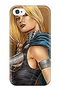 5540894K62240063 Hard Plastic Iphone 4/4s Case Back Cover,hot Blonde Valkyri Case At Perfect Diy