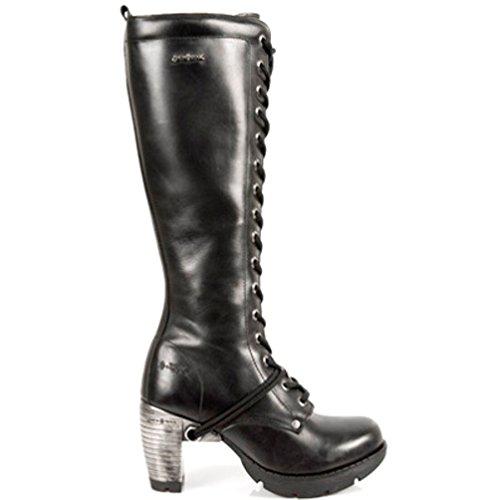 S1 Noir Style TR005 Talon Rock Femmes M New NEWROCK d'acier Bottes WwqCZYxg