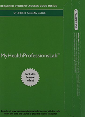 MyLab Health Professions with Pearson eText --Access Card--for MIBC for Rich/Medical Coding: A Journey (My Health Professions - Journey Lab