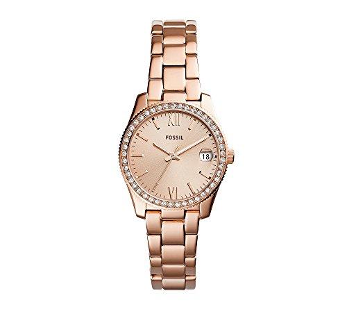 Fossil-Rose-Goldtone-Small-Round-Bracelet-Watch