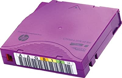 HPE C7976AN Bar Code Labeled LTO Ultrium by HPE