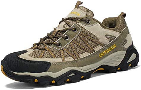 トレッキングシューズ メンズ ハイキングシューズ アウトドア 登山靴 ウォーキングシューズ 防透湿 防滑 通気 耐磨耗 登山靴 アウトドア キャンプ シューズ