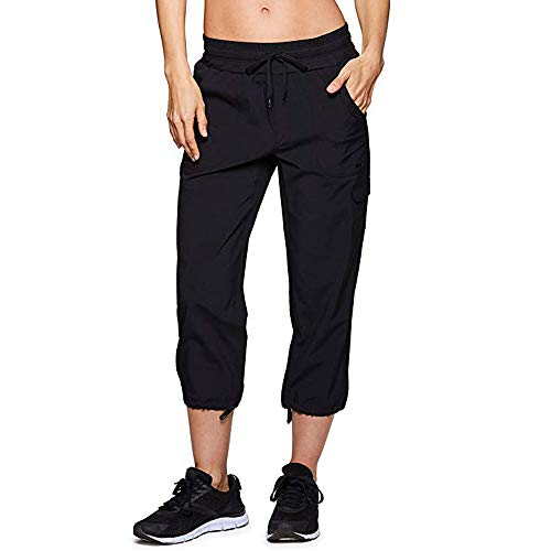 (Womens Casual Pants Baggy Pockets Walking Cargo Lightweight Pants Trousers)