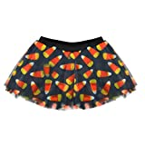 Gone For a Run Runners Printed Tutu by Lightweight | One Size Fits Most | colorful Running Skirts | Candy Corn