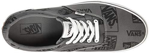 Vans Pewter Logo logo Mix black Vf9 Big Gris Homme Doheny Baskets ZqrOfZ