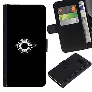 JackGot ( OSHMKUFA ) Samsung Galaxy S6 la tarjeta de Crédito Slots PU Funda de cuero Monedero caso cubierta de piel