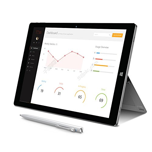 AWOW 11.6 Inch 8GB 64GB 2-in-1 Laptops Tablet PC with Windows 10 and Android 6.0 Keyboard Stylus - ( Intel X7 Z8750 Quad Core 2.56Ghz | Intel HD Graphics 405 | IPS 1920X1080 | USB 3.0 | Type C ) by AWOW (Image #1)
