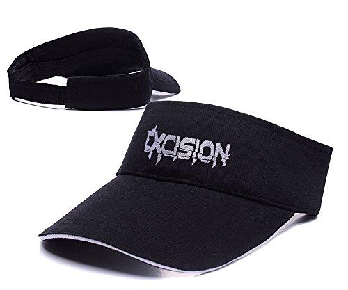 excision ajustable gorra de debang Visor bordado DJ béisbol Black gorro F1dwxOgq