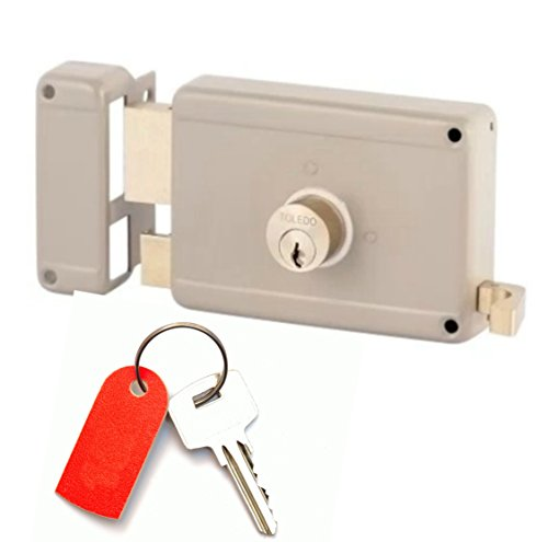 Gate Locks With Deadbolt And Deadlatch Locking (Left Hand Inward) Has Yale Keyway