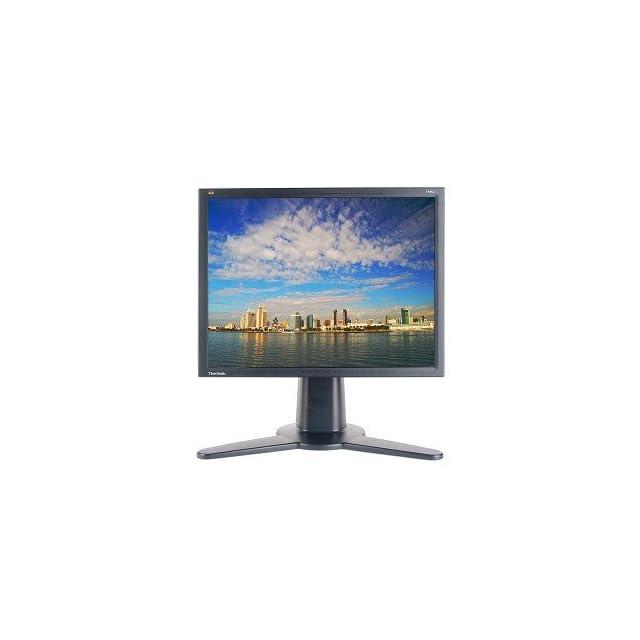 20.1 ViewSonic VP201b DVI Rotating LCD Monitor w/USB 2.0 Hub (Black)   Rotates to Portrait or Landscape View