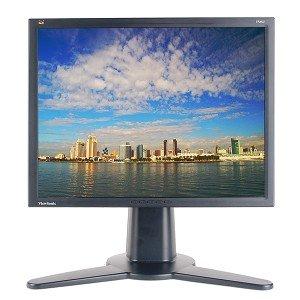 ViewSonic VP201b Rotating Monitor Black