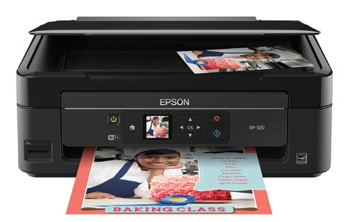 Epson Expression Home XP-320 Wireless Color Photo Printer with Scanner & Copier by Epson