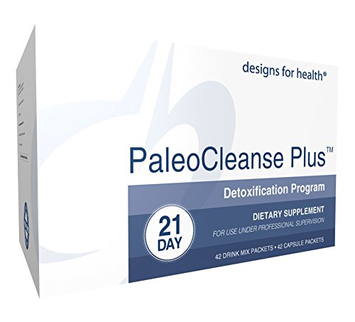 Designs for Health - PaleoCleanse Plus - 21 Day Detox - 42 (Cleanse Bar)