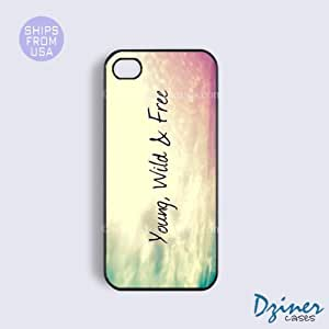 iPhone 5c Case - Young Wild And Free iPhone Cover
