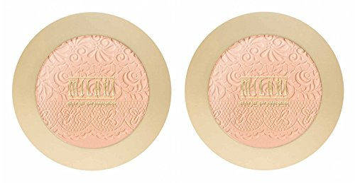 Milani Face Powder, Light Medium 02 0.37 oz Pack of 2