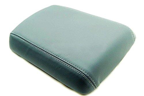 Autoguru Nissan Pathfinder 05-12 Center Console Armrest Synthetic Leather Cover Dark Gray