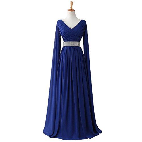 Chiffon Formal Gown - 5