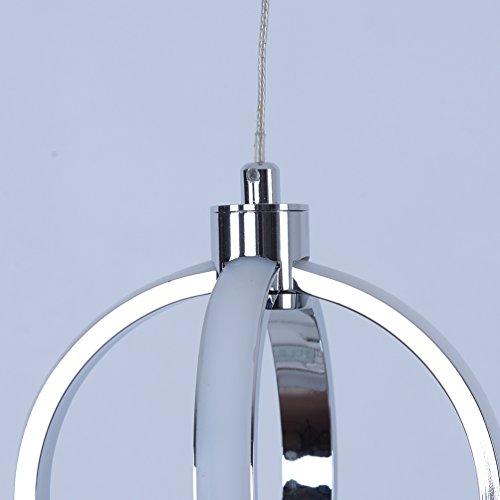 LED Mini Pendant Light Kitchen Pendant Lights With Chrome