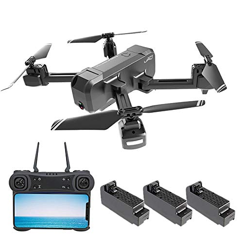 Ceepko KF607 4K Drone with Camera, Foldable FPV Drone with Live Video, Gesture Photo, Automatically Follow, GPS Auto Return and Set Flight Route for Adults