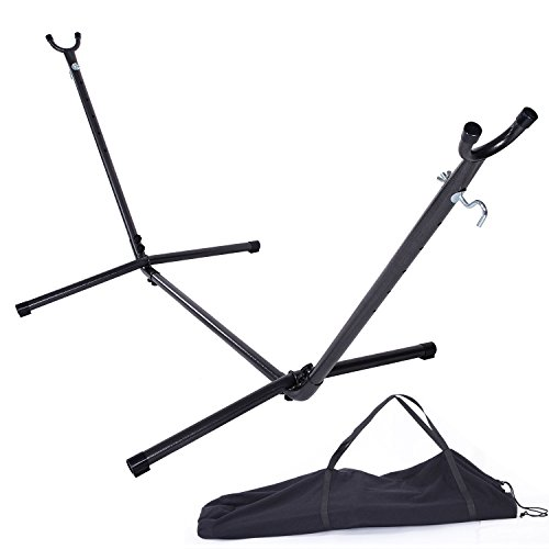 Z ZTDM Products Space Saving Steel Hammock Stand 9FT Outdoor Patio Portable with Carrying Case by Z ZTDM