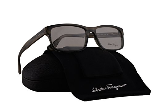 Salvatore Ferragamo SF2669 Eyeglasses 55-15-140 Crystal Gray Beige Horn 270 SF - Glasses Reading Ferragamo