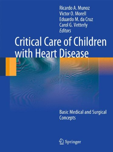 Pdf Medical Books Critical Care of Children with Heart Disease: Basic Medical and Surgical Concepts