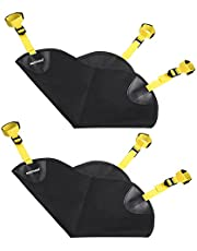 Neewer 2 Pack Black Heavy Duty Photographic Studio Video SandBag for Light Stands, Boom Stand and Tripod