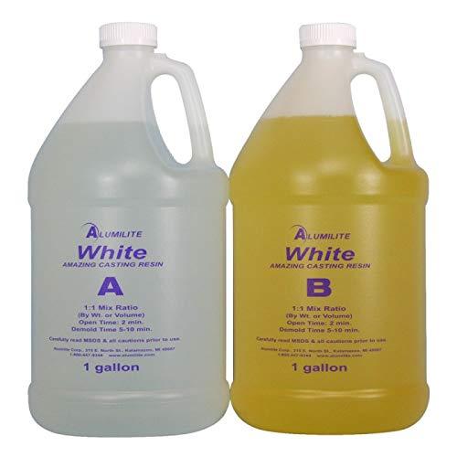 Alumilite White (Amazing Casting Resin) 2 Gallon