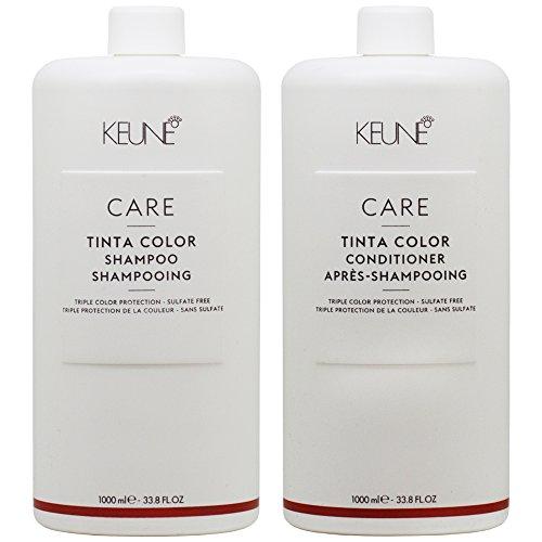 KEUNE Care Tinta Color Shampoo & Conditioner 33.8oz / 1L Duo ()