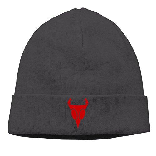 Zims Head - ASAS Invader Zim Logo Woolen Hats/Plush Hat/Head Cap Black