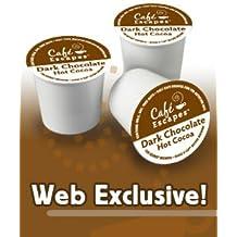 Green Mountain Coffee Roasters Gourmet Single Cup Dark Chocolate Hot Chocolate K-Cups Green Mountain - (Pack of 6)
