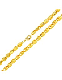 18K Gold Plated Ethiopian/Eritrean Jewelry Chain Handmade Thick Necklaces &Chain