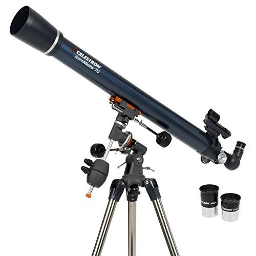 Celestron 21062 AstroMaster 70 EQ Refractor Telescope Celestron