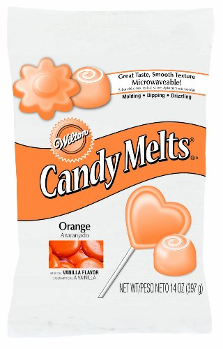 Wilton Candy Melts 14-Ounce, Orange