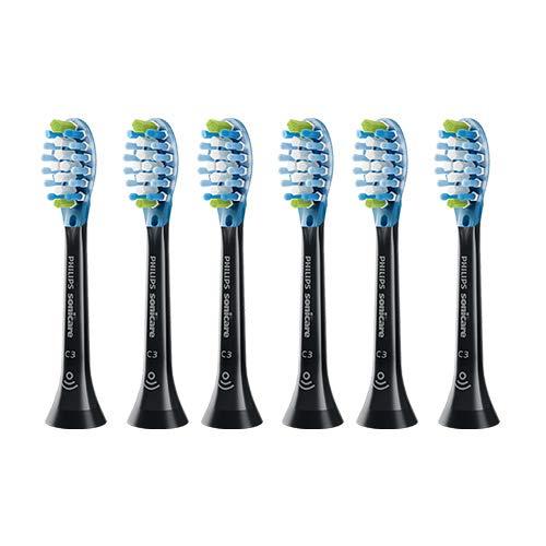 Sonicare C3 Premium Plaque Control Standard sonic toothbrush Heads(HX9044/95)- 6 Pack