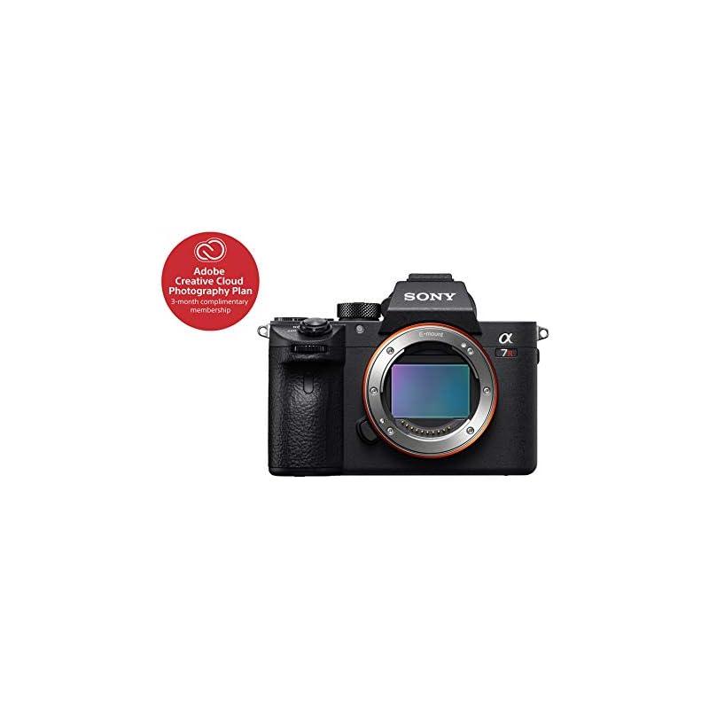 Sony a7R III 42.4MP Full-frame Mirrorles