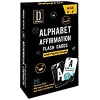 Darlyng & Co.'s Modern Alphabet Affirmation Flash Cards for Kids ABC Flash Cards (Alphabet Affirmation Flash Cards)