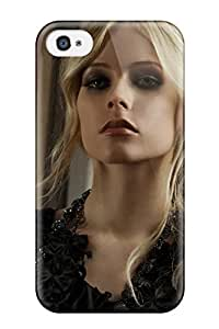 Excellent Design Celebrity Avril Lavigne Phone Case For Iphone 4/4s Premium Tpu Case