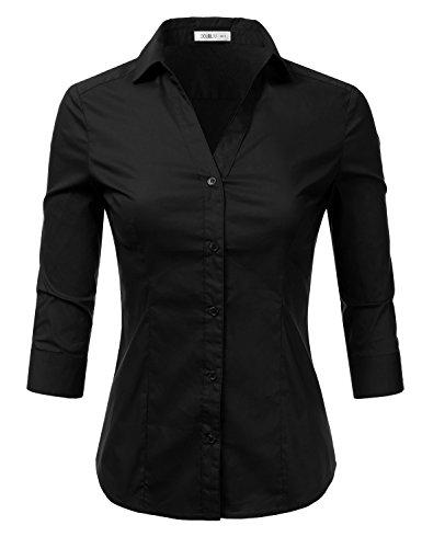 Stretch Button Up Shirt - 6