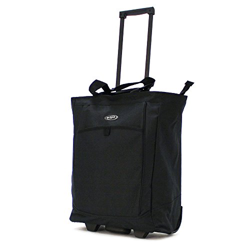Olympia Sports Plus Rolling Shopper Tote Bag, Wheeled Handbag in - Leather Rolling Luggage Wheeled