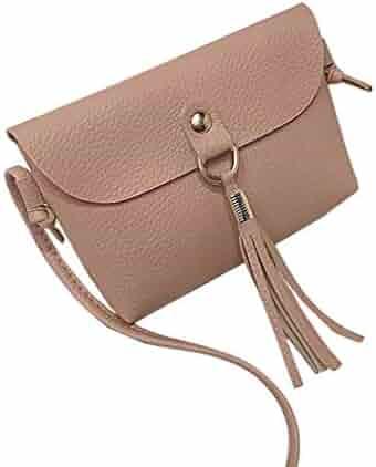 LANWF Messenger Bags Tassel Cute Balls D/écor Shoulder Bag Childrens Crossbody Bag Tassel Accessories Bag Coin Pouch Candy Bag,Red