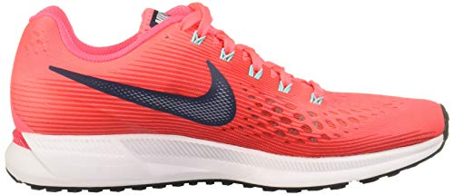 white Aqua Punch black hot Femme Chaussures Blue Zoom De siren thunder Pegasus 34 Wmns Nike Running Rose lt Red Air qwTPxUH