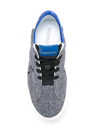 Premiata Sneakers Uomo STEVE1763 Pelle Grigio