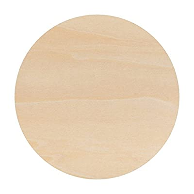 Unfinished Round Wood Circle Cutout 12 Inch - By Woodpeckers
