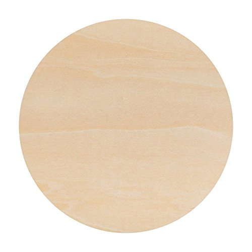 Unfinished Round Wood Circle Cutout 12 Inch - Bag of 10 by Woodpeckers (Circle Wood Craft)