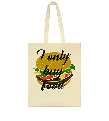 I Bag Only Buy I Tote Delicious Burger Food Only wFw7WrOqP